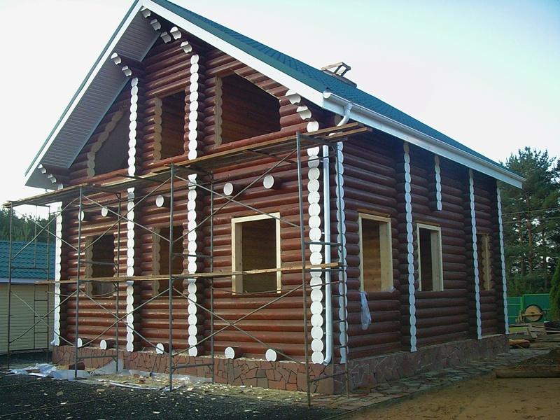 Отделка коттеджей и загородных домов