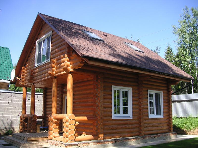 Комбинированный дом из газобетона и дерева, проекты